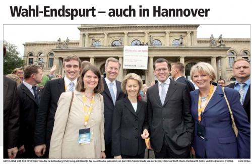 Wahlendspurt CDU