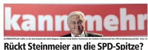 Alternativplan Steinmeier